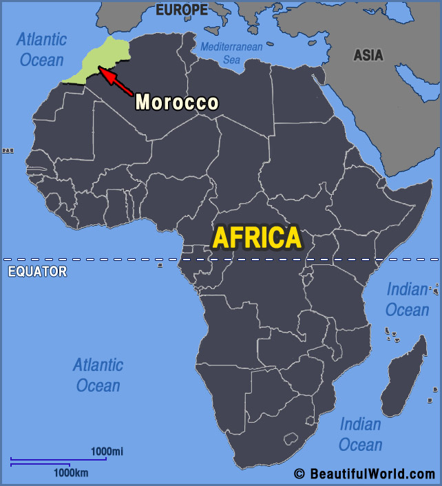 morocco-africa-map